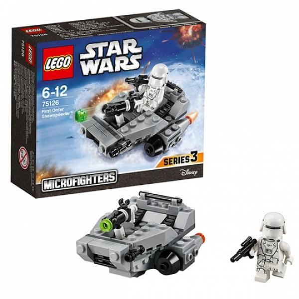 LEGO  Звездные войны 75126 Снежный спидер Первого Ордена™