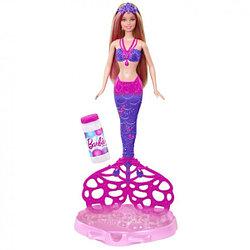 Куклы Barbie (Барби) CFF49 Русалка с пузырями