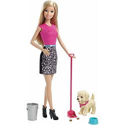 Barbie Реальный мир. Набор по уходу за щенком