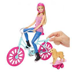 """Кукла Барби игровой набор """"Катаемся вместе"""""""