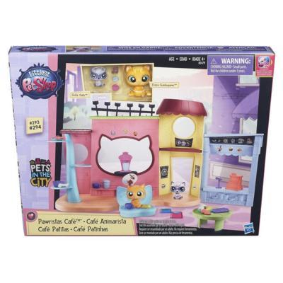 """Littlest Pet Shop Игровой набор Hasbro LPS Игровой набор """"Кафе"""""""