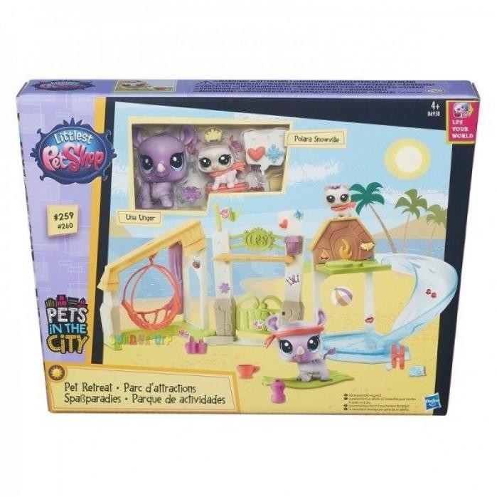 """Littlest Pet Shop Игровой набор Hasbro LPS """"Городские сценки"""" (в ассорт.)"""
