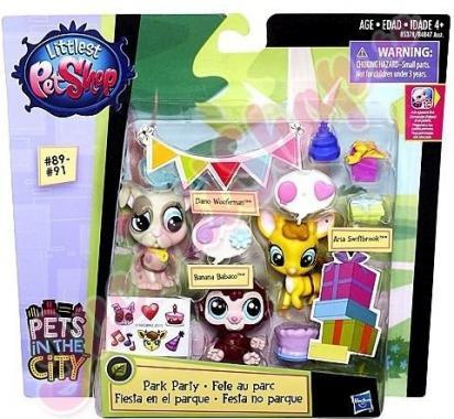 Littlest Pet Shop Игрушка HASBRO LPS Зверюшки-модницы (в ассорт.)
