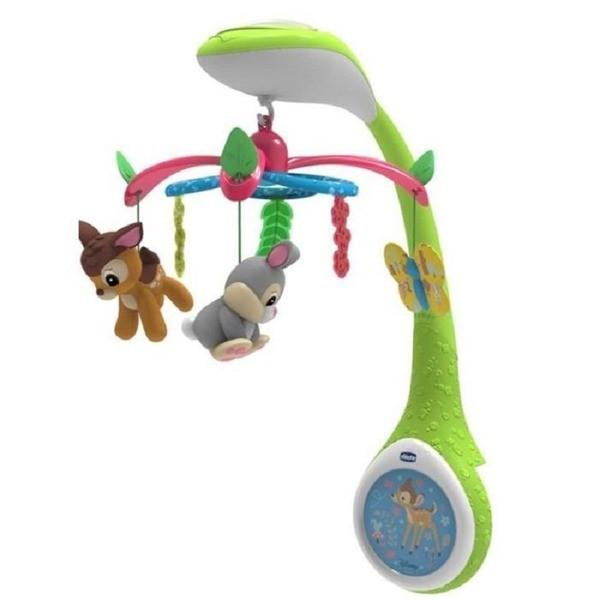 "Chicco: Мобиле Disney ""Bambi"" 0м+"