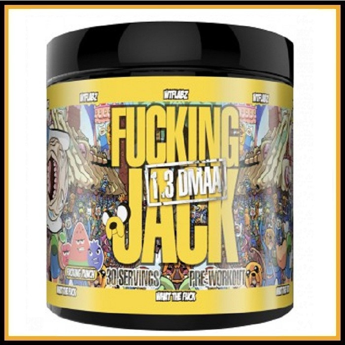 Fucking Jack 30 порции (сладкая вата)