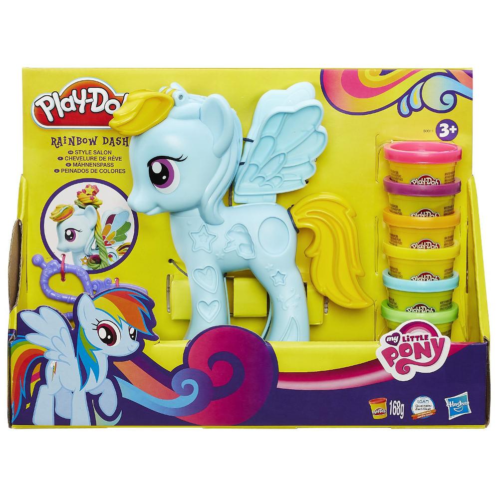 """Play-Doh Игровой набор """"Стильный салон Рэйнбоу Дэш"""""""