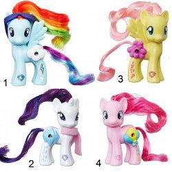 My Little Pony Игрушка HASBRO MLP Пони с волшебными картинками (в ассорт.)