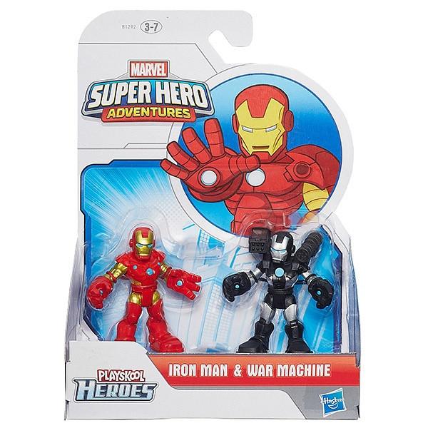 Playskool Heroes A7109 Фигурка героев Марвел 2-в-1 в ассортименте