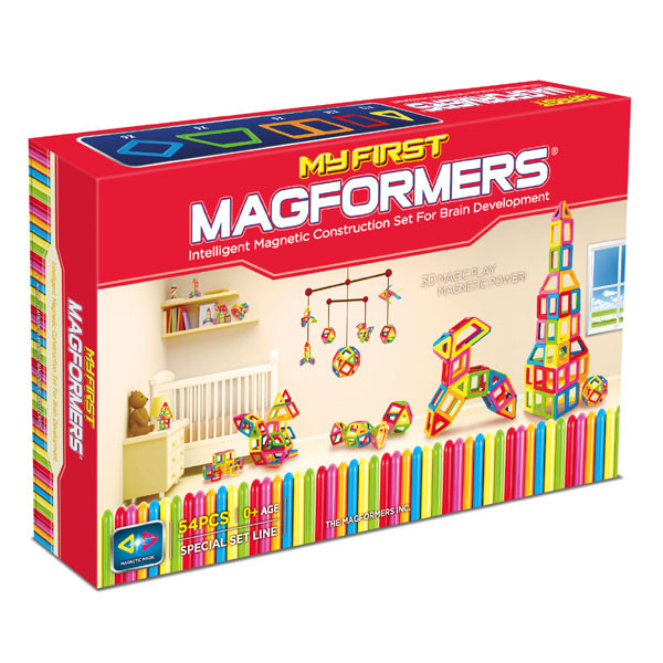 Magformers My First 54 Магнитный конструктор Магформерс