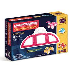 Magformers My First Buggy Car Set - Pink Магнитный конструктор Магформерс
