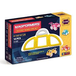 Magformers My First Buggy Car Set - Yellow Магнитный конструктор Магформерс