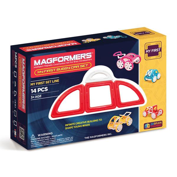 Magformers My First Buggy Car Set - Red Магнитный конструктор Магформерс - фото 1