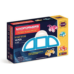 Magformers My First Buggy Car Set - Blue Магнитный конструктор Магформерс