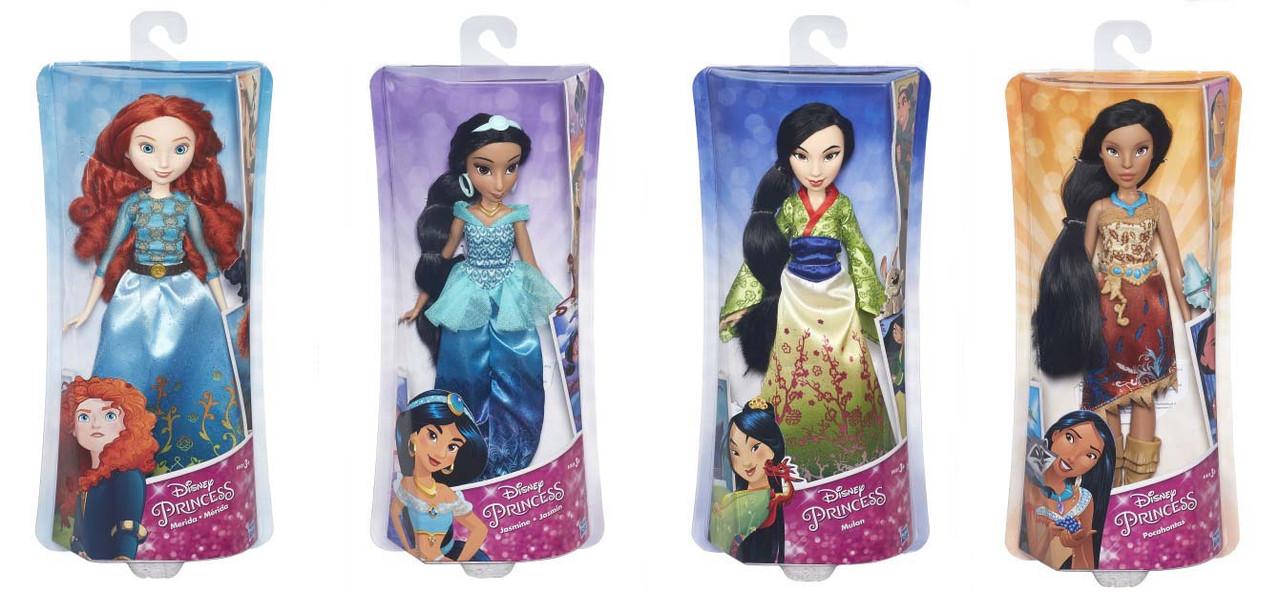 Классическая модная кукла Принцесса Disney в ассортименте