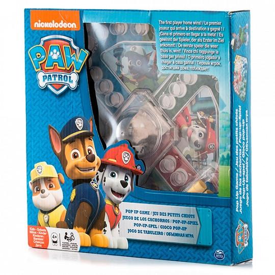 Настольная игра Spinmaster с кубиком и фишками Щенячий Патруль 6028799 Paw Patrol