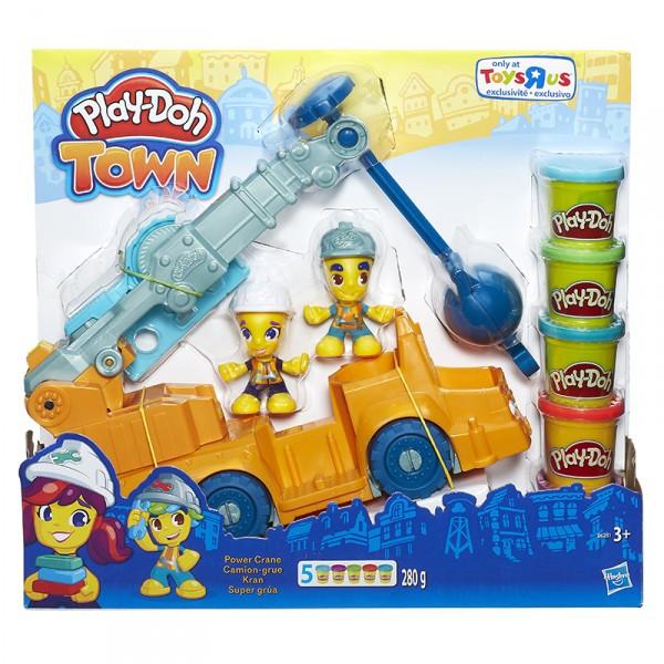 Набор Play-Doh Кран