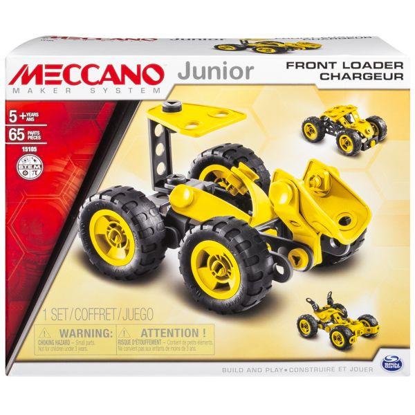Игрушка Meccano Фронтальный погрузчик (3 модели)