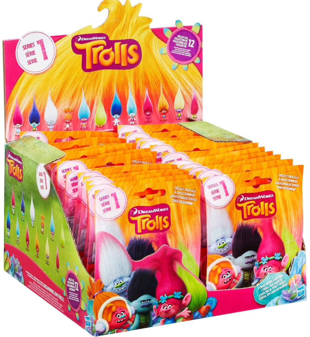 Игрушка Hasbro Trolls Тролли в закрытой упаковке