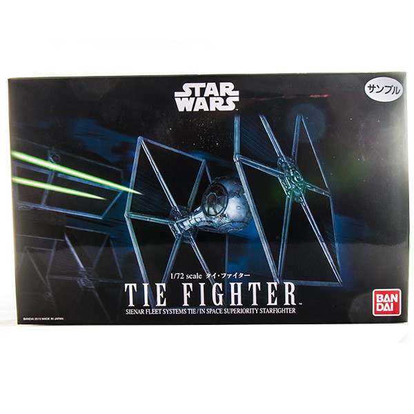 SW Сборная модель Истребитель TIE-Fighter 1/72