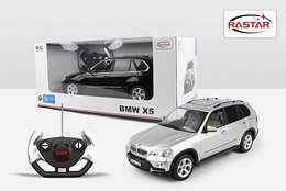 RASTAR RC Р/У Машина 1:14 23200 BMW X5, яркая коробка, 2 цвета в асс., 46х22х20см, свет. фары и стоп-сигналы