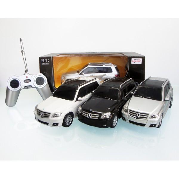 RASTAR RC Р/У Машина 1:24 32100 Mercedes-Benz GLK, 3 цвета в асс., 29х14х12см, свет. фары и стоп-сигналы