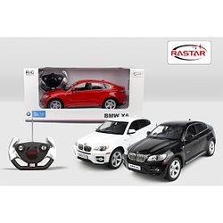 RASTAR RC Р/У Машина 1:14 31400 BMW X6, яркая коробка, 3 цвета в асс., 46х22х20см, свет. фары и стоп-сигналы