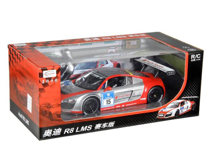 RASTAR RC Р/У Машина 1:14 47510 Audi R8 LMS Performance, независимая подвеска, яркая коробка, 2 цвета в асс.,