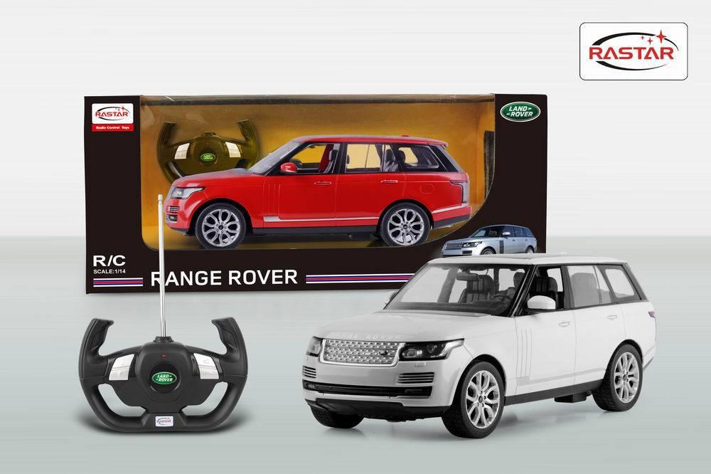 RASTAR RC Р/У Машина 1:14 49700 RangeRover Sport, 2 цвета в асс., 44х22х20см, свет. фары и стоп-сигналы