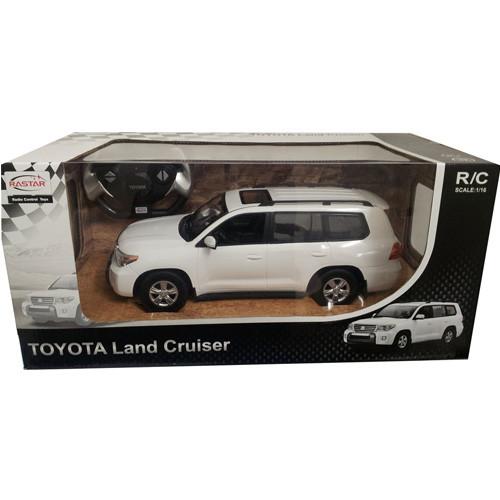 RASTAR RC Р/У Машина 1:16 50200 TOYOTA Land Cruiser, яркая коробка, 2 цвета в асс., 43х23х18см, свет. фары и