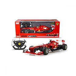 RASTAR RC Р/У Машина 1:12 57400 Ferrari F138, яркая коробка, независимая подвеска,  48х23х17см, свет. фары и