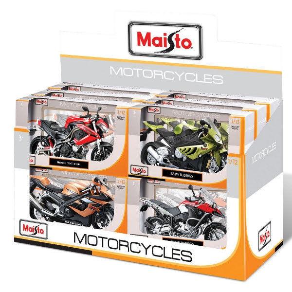 Модель коллекционная Maisto 31101/34101 Мотоцикл в асс. 1:12, 22х12х7см
