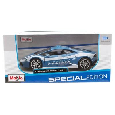 Модель коллекционная Maisto 31511 Lamborghini Huracan LP610-4 Police 1:24, Special Edition, открывающиеся двер