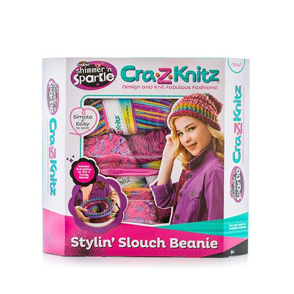 Cra-z-knitz Набор для вязания Стильная Шапка -колпак