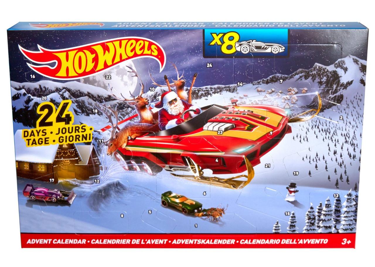 """Подарочный набор """"В преддверии Нового года"""" Hot Wheels"""
