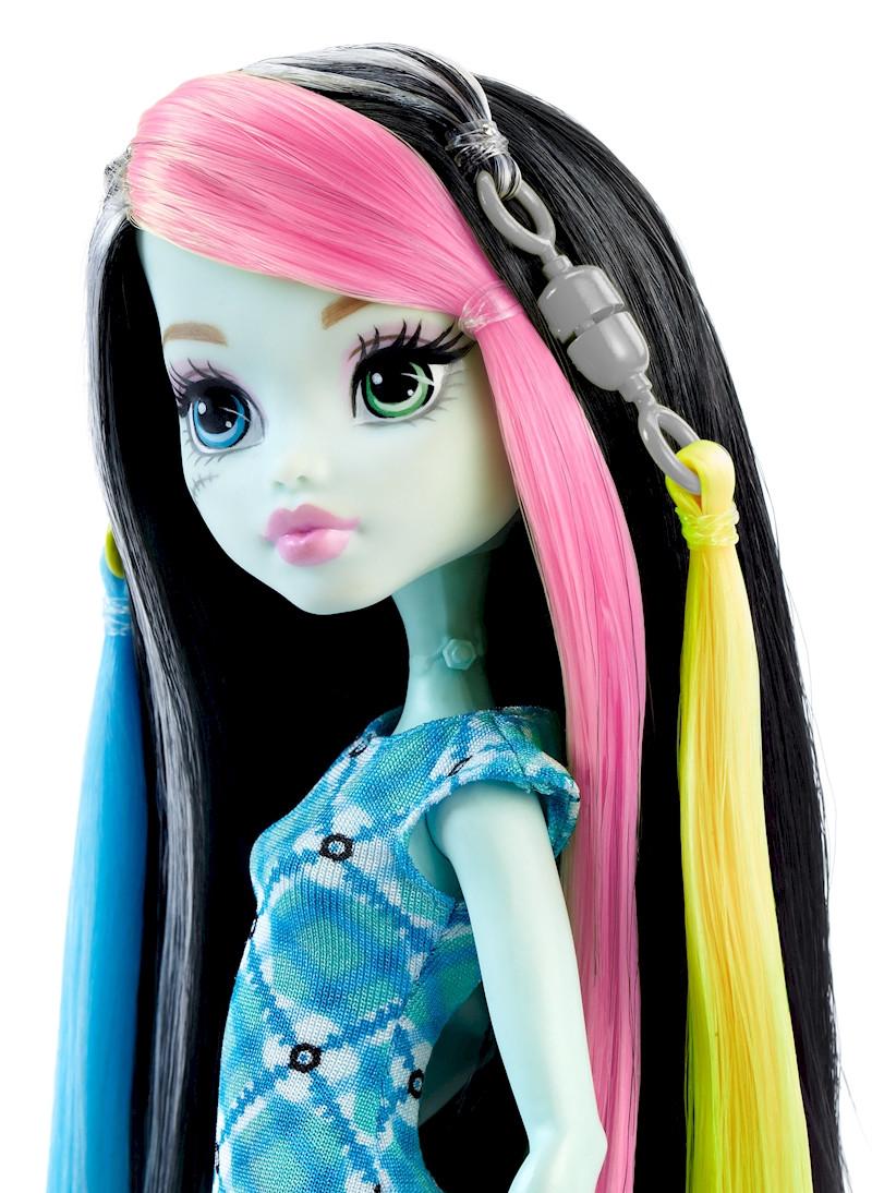 Кукла Фрэнки Штейн - Высоковольтные волосы, Школа Монстер Хай DNX36 - фото 1