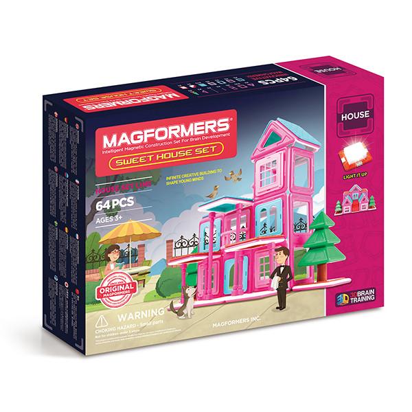Magformers Sweet House Set Магнитный конструктор Магформерс