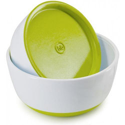 Набор тарелок Happy Baby с крышкой Bowl Set With Airproof Lid