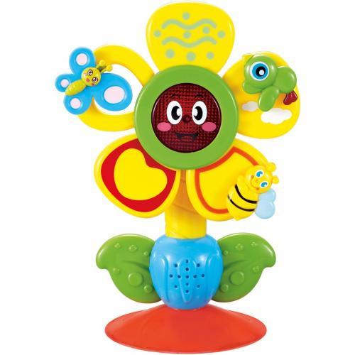 Музыкальная игрушка Happy Baby на приuсоске Fun Flower