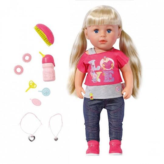 Игрушка BABY born Кукла Сестричка, 43 см, кор.