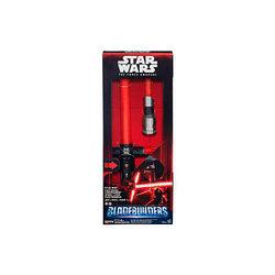 Набор Hasbro Звездные войны световой меч делюкс B2948 + фигурка B3886