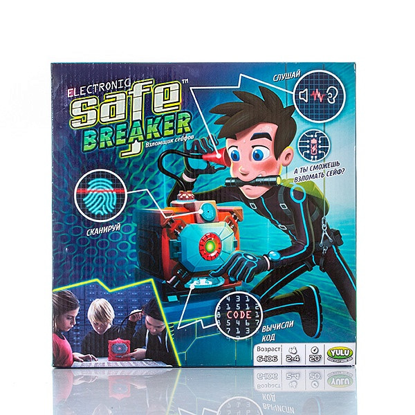 Safe Breaker YL016 Игра настольная Взломщик Сейфов