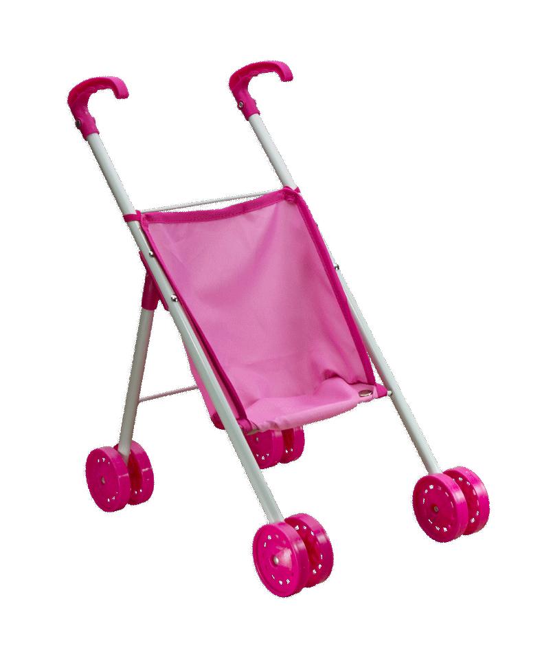 LT 98030 Tiny Baby - Прогулочная коляска для куклы в пакете. Высота 45см. В дисплее 14 шт.