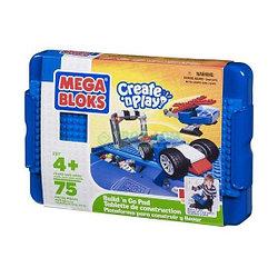 "Mega Bloks 00296 (00297, 00298) ""Create'n Play - Креативная игра"" Складной cтолик с конструктором"