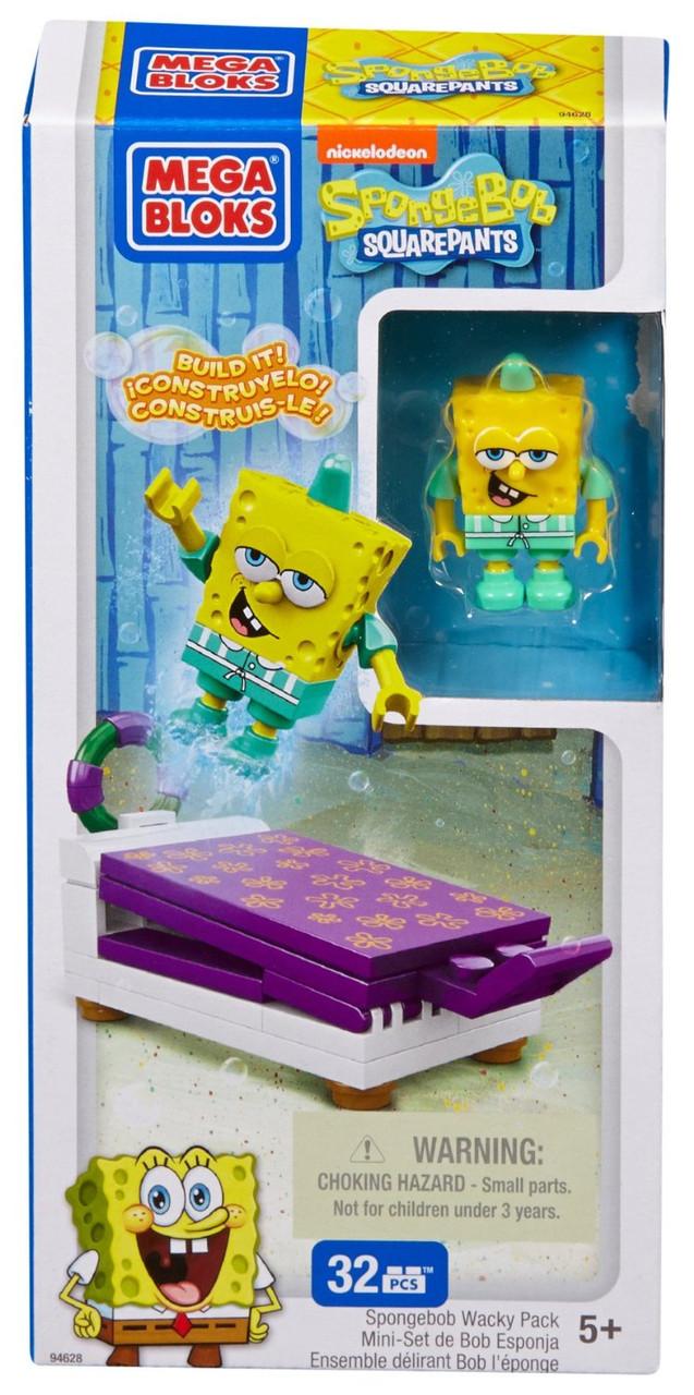 "Mega Bloks 94618 (CND17) ""SpongeBob SquarePants"" Веселые прыгуны в асс."