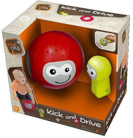 MeliDadi 80012 Kick & Drive - Технологически уникальный р/у мячик