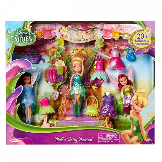 Игровой набор  Дисней Фея Disney Fairies 11 см с акс. в асс.