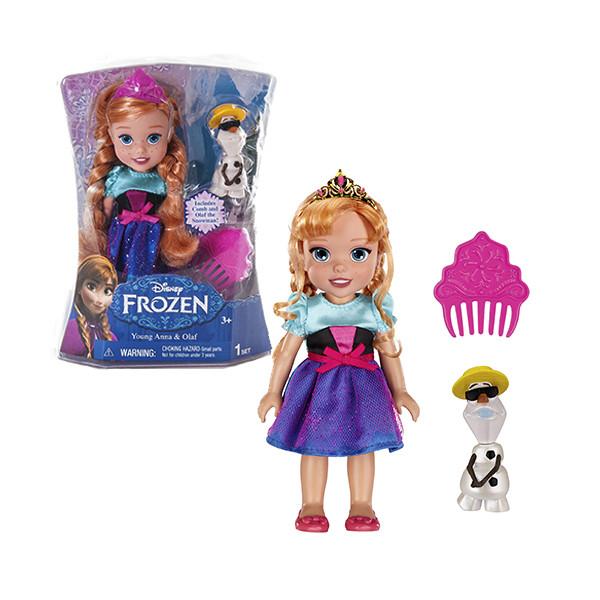 Disney Fairies Кукла Холодное Сердце  Принцессы Дисней с Олафом 15 см, в асc-те
