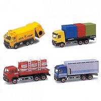 Игрушка Welly модель грузовика 15см. в ассорт 16 видов