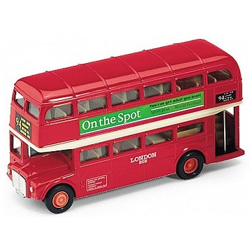 Игрушка Welly модель автобуса  London Bus