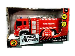Инерционная пожарная машина Junior Trucker - Fire Rescu